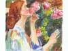 lady-smelling-roses-02-2003-sophia-ehrlich