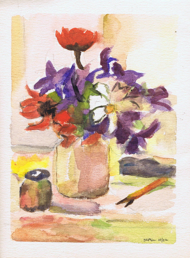 Flowers 10 2002 Sophia Ehrlich