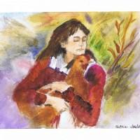 Girl With Chicken 01 26 04 Sophia Ehrlich