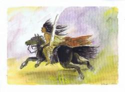 Horse and Rider 05 10 2003 Sophia Ehrlich