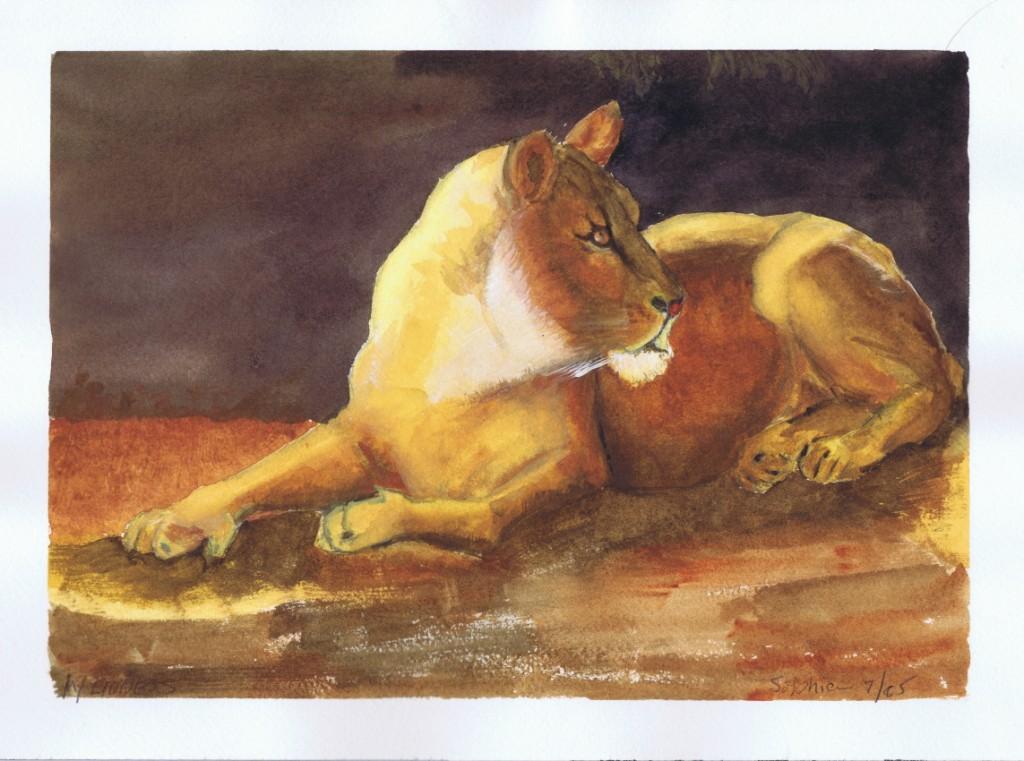 My Lioness 07 2005 Sophia Ehrlich