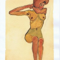 Nude Study 09 2002 Sophia Ehrlich