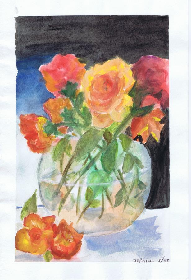 Roses 03 2003 Sophia Ehrlich