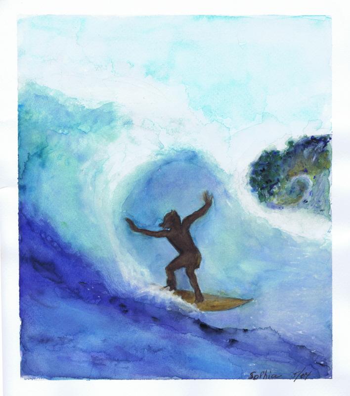 Surfer Wave 05 2004 Sophia Ehrlich