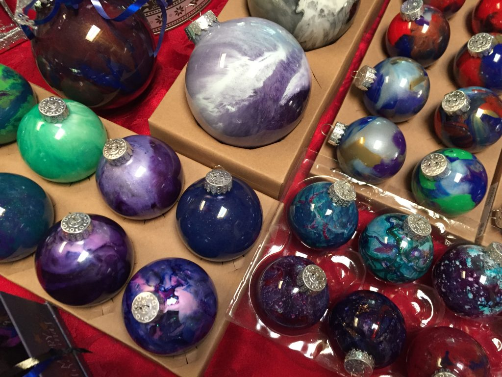 Hand Painted Holiday Ornaments