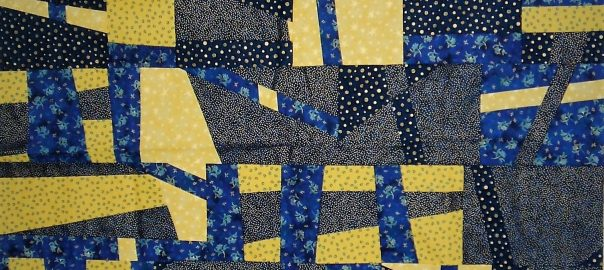 Fireflies Quilt by Lahle Wolfe