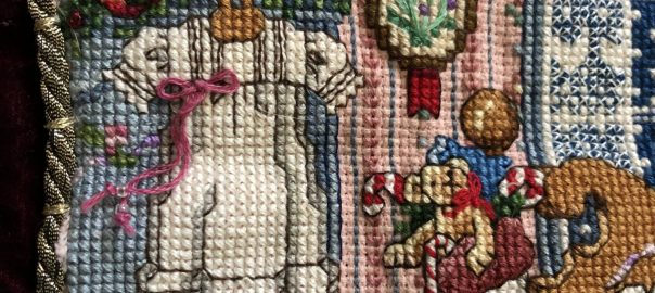 Rachel Stocking Detail